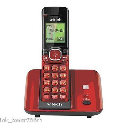 NEW RED/BLUE/SILVER Cordless Phone Great Sound w/ magicJack Go/Plus/Google Voice