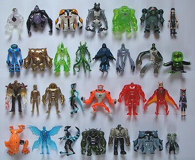 """Ben 10 Alien Force 4"""" / 10cm Action Figures - Many To Choose From - All VGC"""