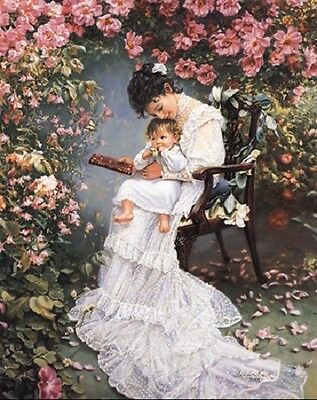 Sandra Kuck REFLECTIONS OF LOVE 16x20 open ed Mother/'s Day print ARTIST SIGNED