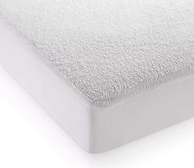 Terry Towel Waterproof Mattress Protector Fitted Wet Sheet Bed Cover Washable