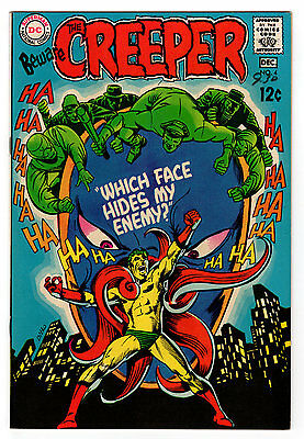 Beware The Creeper #4 9.2 Off-White To White Pages Silver Age