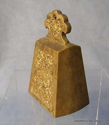Antique Brass Bell Southeast Asia 19th century