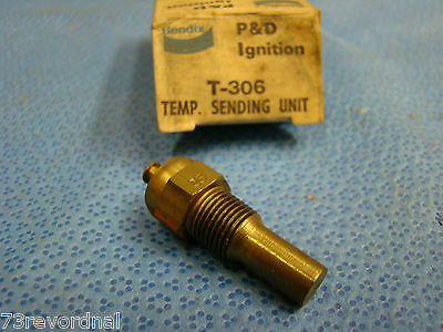 NORS 64 65 66 Chrysler Dodge Imperial Plymouth Temperature Temp Sender with AC