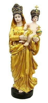 Our Lady of Prompt Succor Madonna Mary Virgin and Child Jesus Statue Figurine