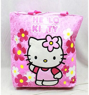 a78f2ded6 NWT Hello Kitty Large Diaper Tote Bag Pink by Sanrio Paisley Newest Style
