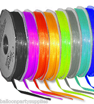 3mm x 50m Double Sided Satin Ribbon