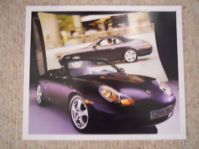 1999 Porsche Carrera 4 Cabriolet Showroom Advertising RARE!! Awesome L@@K
