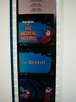HANNA-BARBERA Filmstrip Set- Yogi Bear Film NEW Dentist Doctor Medical education