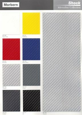 Shock Carbon Fiber Vinyl for Marine, Automotive, General Seating - By the Yard