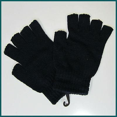 Unisex Winter Fingerless Mittens / Gloves - Adult (New) Hand Warmer Mens Ladies