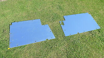 Floor Plates Panels 3mm thick 330037  330038 for Land Rover Series 2 2a 3 88 109