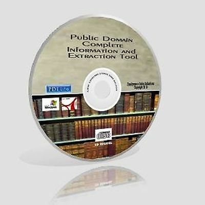 Public Domain Complete Information & Extraction Tool CD