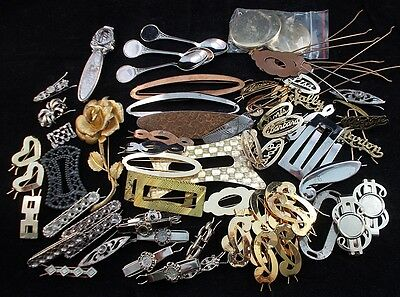 Mixed Loose Assorted JEWELRY PARTS Lot 1250 for Crafts Jewelry D9