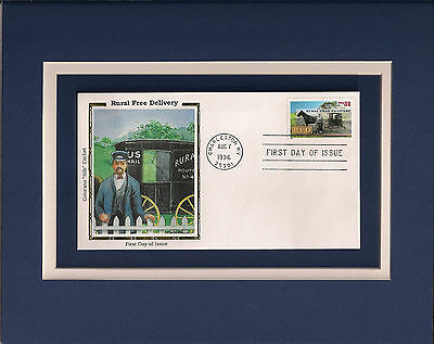 RURAL FREE DELIVERY US Mail 1st Day Cover Rural Free Delivery Centennial Stamp