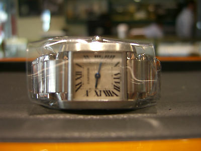 Cartier Tank Francaise Stainless Steel Ladies Watch Pre-Owned Wow