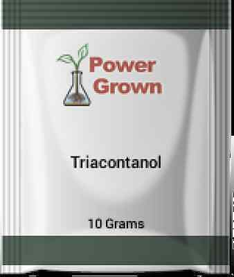 Triacontanol 99.2% 10 Grams With Instructions Spoon and free rebates