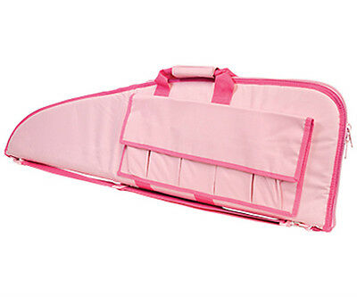 """NcSTAR 42"""" PINK Police SWAT Hunting Tactical Rifle Gun Carrying Bag Case Pouch"""