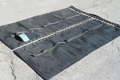 Hobie Cat 18 Tramp Trampoline New Black Mesh with DOUBLE (2) Halyard Pockets18SX