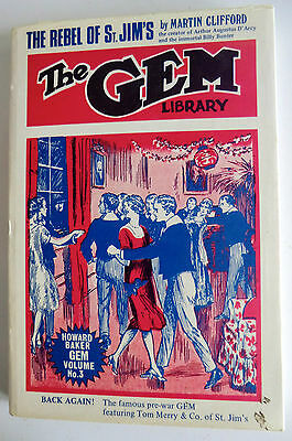 Rare 1St Ed Hb Book - The Gem Library By Martin Clifford - The Rebel Of St Jim's