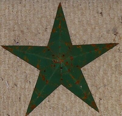 New USA Made DARK GREEN Rustic Genuine Amish Quality Primitive 22 INCH Barn Star