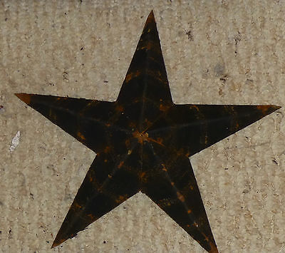 Rustic Genuine Amish Farmer Quality Primitive 22 INCH Barn Star USA Made BLACK