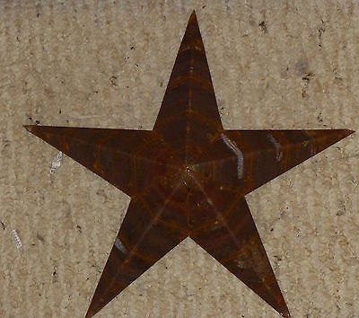 USA Made NATURAL RUST Rustic Genuine Amish Quality Primitive 22 INCH Barn Star
