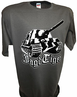 Jagdtiger Tiger Tank Battle Panzer Ww2 1/35 Scale Armor Army Toys Diecast Tee