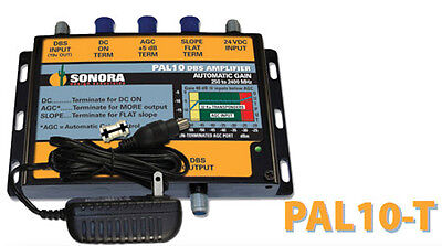 *NEW* Sonora DBS KA/KU AUTO-GAIN AMPLIFIER PAL10