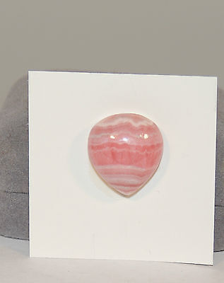 Pink Rhodochrosite Cabochon 17x19mm with 8mm dome (4522)
