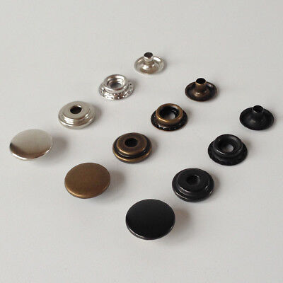 Heavy duty poppers Snap fastener Press stud Sewing Rivet Leather craft Clothing