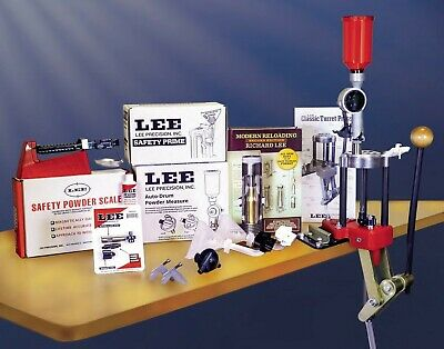 Lee Classic 4 Hole Turret Press Deluxe Kit  # 90304 New!