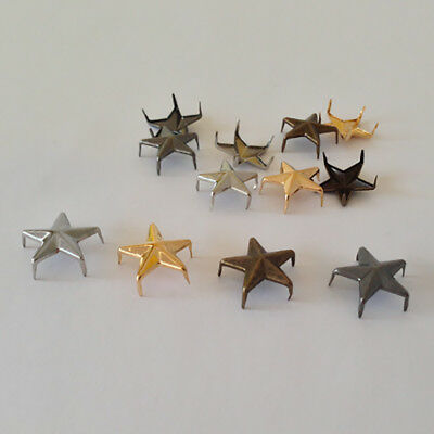 Star Spike Studs Claw Rivets DIY Leather Craft Bag Belt Shoes *** Non-Rust ***