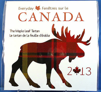 2013 Everyday Canada the Maple Leaf Tartan Great Coin Gift Set for All Occasions