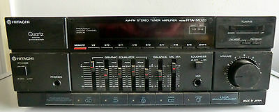 Vintage Am/fm Stereo Tuner And Amplifier For Hitachi Hta Md20 Music System - Vgc