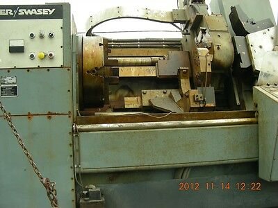 "Warner Swasey SC 32 1987 13"" hole very low time from Navy"