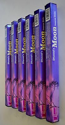 Moon Incense, Bulk Buy,120 Sticks 6 Packets,free Postage