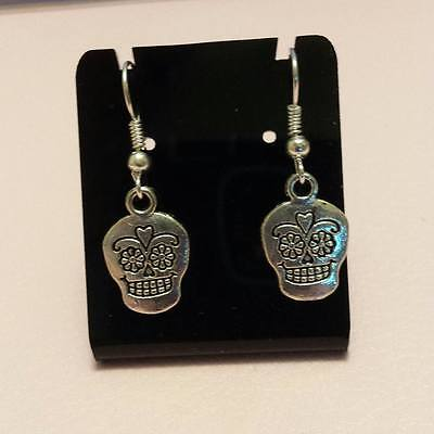 Sugar Skull  - Día de Muertos Earrings  FREE PRIORITY POST