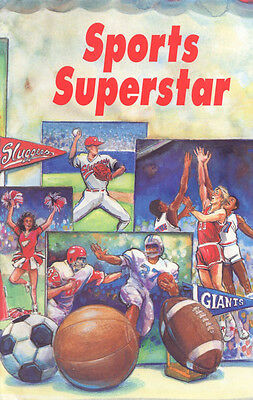 Sport's Superstar Personalized Children's Book By SoniaMcD