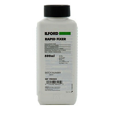 Ilford Rapid Fixer - Film and Paper Fixer 500ml