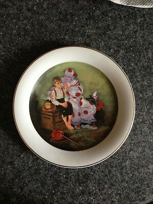 "Norman Rockwell A Touch of Rockwell - ""The Runaway"" collector plate"