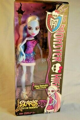 MATTEL 2012 MONSTER HIGH Scaris City of Frights ABBEY BOMINABLE Doll NIB