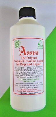 DOG FLEA & TICK NATURAL LOTION 550ml FOR DOGS & PUPPIES.SAFE,EFFECTIVE,NON TOXIC