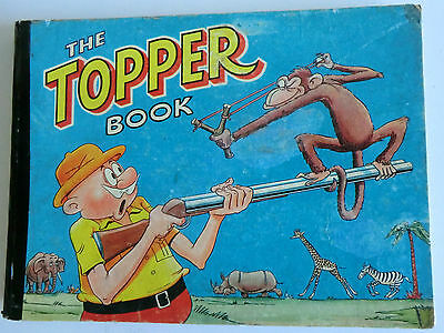 Rare Vintage Hb Annual - The Topper Book - 1959 -  Beryl The Peril/nancy