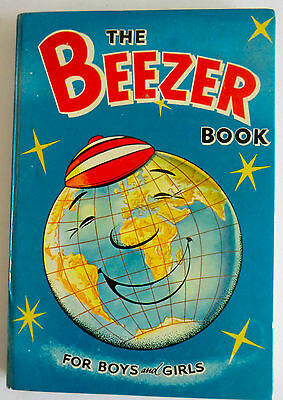 Rare Vintage Hb Annual - The Beezer Book 1961 - Ginger, Colonel Blink Etc