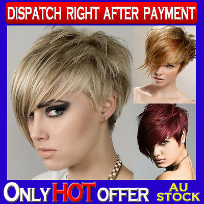 100% Human Hair Top Clip In Fringe Bangs Extension Hair Piece Side Long Fringe