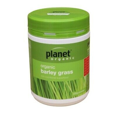 Green BARLEY GRASS POWDER Certified Organic Superfood ~ Premium Grade