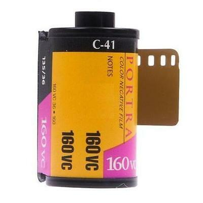 Kodak 35mm Portra ISO 160 Color Negative Film C-41 (Well Kept in COLD storage)
