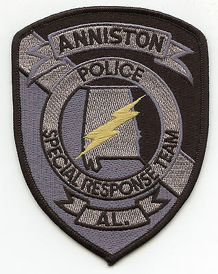 ANNISTON ALABAMA AL SRT Special Response Team SWAT POLICE PATCH