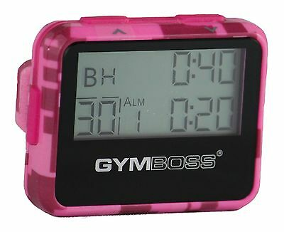 Gymboss Interval Timer And Stopwatch Pink Camo / Pink Gloss From Gymboss Hq