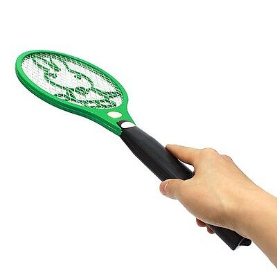 Electric Shock Bug Zapper Mosquito Insect Fly Swatter Hit Killer Racket Stick